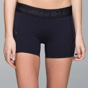 Lululemon What the Sport Short Size US 4 Black